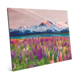 'Colorful Wildflowers' Acrylic Wall Art Print