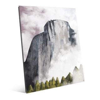 Rock Face Dawn Acrylic Wall Art Print