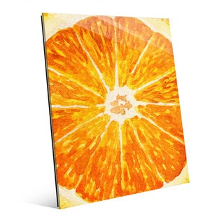 Up Close Orange Acrylic Wall Art Print