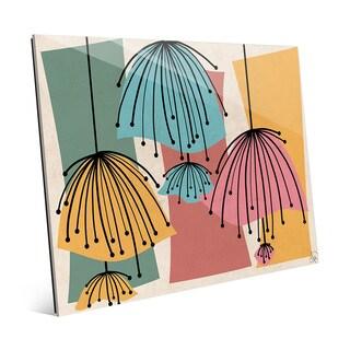 Lazy Lamps Glass Wall Art Print