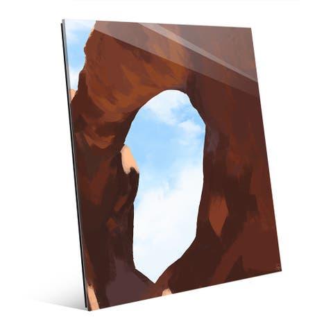 'Arch Main' Glass Wall Art Print