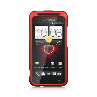 Insten Hard Snap-on Rubberized Matte Case Cover For HTC Droid Incredible (LTE version)