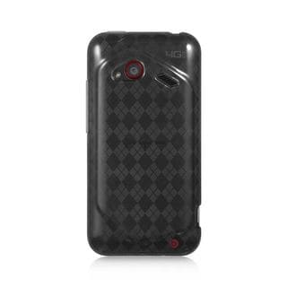 Insten TPU Rubber Candy Skin Case Cover For HTC Droid Incredible (LTE version)