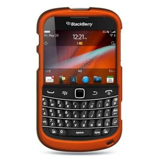 Insten Hard Snap-on Rubberized Matte Case Cover For BlackBerry Bold 9900/ 9930
