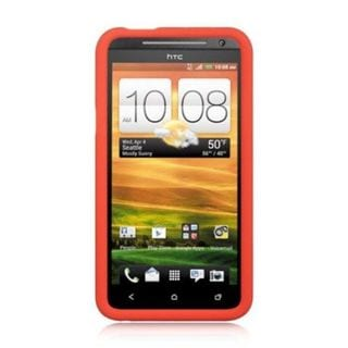 Insten Soft Silicone Skin Rubber Case Cover For HTC EVO 4G