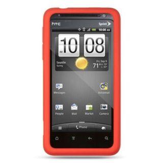 Insten Silicone Skin Gel Rubber Case Cover For HTC EVO Design 4G