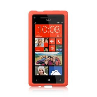 Insten Silicone Skin Gel Rubber Case Cover For HTC Windows Phone 8X