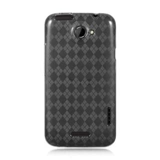 Insten TPU Rubber Candy Skin Case Cover For HTC One X