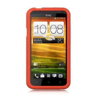 Insten Soft Silicone Skin Rubber Case Cover For HTC One X