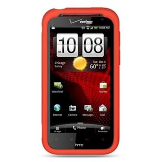Insten Soft Silicone Skin Rubber Case Cover For HTC Rezound / Vigor