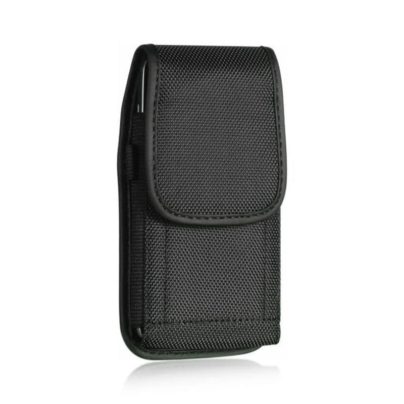 Insten Black Leather Case Cover Rotatable Clip with Belt ...