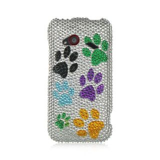 Insten Colorful Hard Snap-on Diamond Bling Case Cover For HTC Droid Incredible (LTE version)