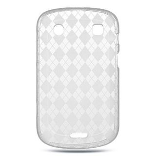 Insten Clear TPU Rubber Candy Skin Case Cover For BlackBerry Bold Touch 9900/ 9930