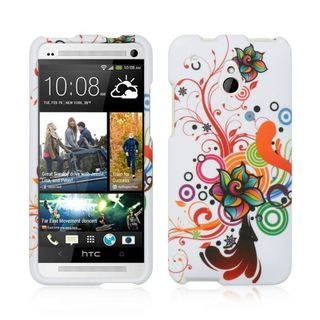 Insten Colorful Hard Snap-on Rubberized Matte Case Cover For HTC One Mini