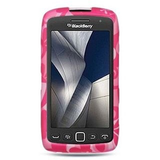 Insten Hot Pink Hard Snap-on Rubberized Matte Case Cover For BlackBerry Torch 9850/ 9860