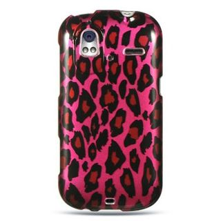 Insten Hot Pink/ Black Hard Snap-on Rubberized Matte Case Cover For HTC Amaze 4G
