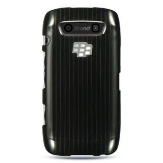 Insten Black Hard Snap-on Rubberized Matte Case Cover For BlackBerry Torch 9850/ 9860