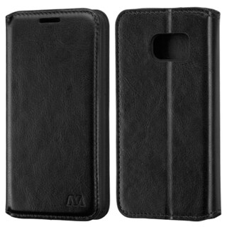 Insten Black Leather Case Cover with Stand For Samsung Galaxy S7