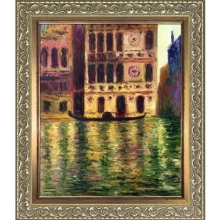 Claude Monet 'Palazzo Dario' Hand Painted Oil Reproduction