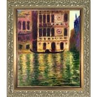 Claude Monet 'Palazzo Dario' Hand Painted Oil Reproduction