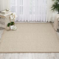 kathy ireland River Brook Taupe/Ivory Area Rug by Nourison - 7'9 x 9'9