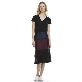 Morning Apple Women's Udi Mulitcolored Mid-length Skirt
