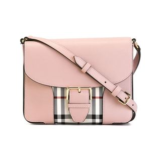 Burberry Dickens Pink Horseferry Check Crossbody Bag