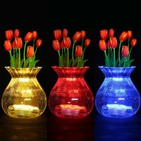 Submersible LED Lights 13 Color Remote Controlled Underwater Lights (Set of 2)