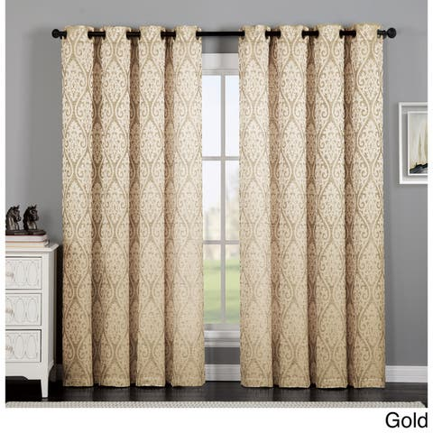 VCNY Home Calibra Jacquard Curtain Panel