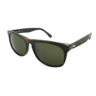 Lacoste L818S-214 Square Green Sunglasses (As Is Item)
