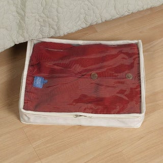 2-pk. Natural Lightweight Canvas Sweater Storage Bag
