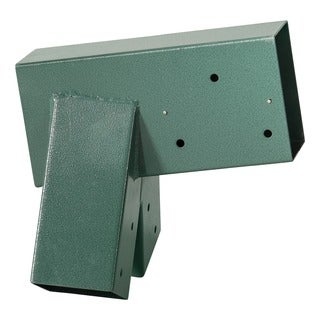 Swingan A-Frame Bracket Green Powder Coating