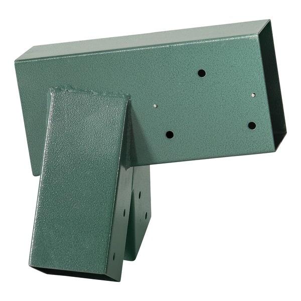 Swingan A-Frame Bracket Green Powder Coating
