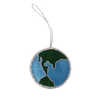 Handmade Globe Holiday Ornament (India)
