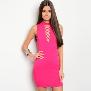 Shop The Trends Women's Sleeveless Bodycon Dress