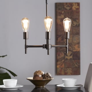 Harper Blvd Saturio 3-Light Semi-Flush Mount Ceiling Light