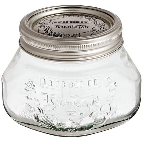 Leifheit Small Mason Jar, 6 pack