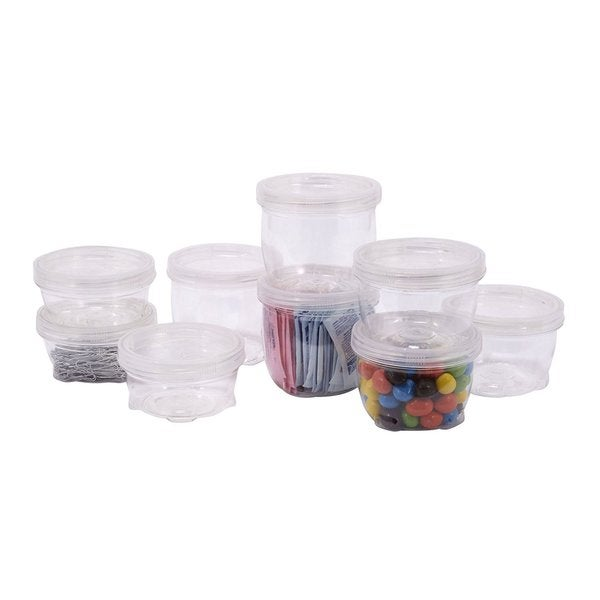 18 Piece Lock Up Storage Containers Multipack   Free Shipping On Orders  Over $45   Overstock.com   20694334