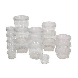 18-piece Lock-up Storage Containers Multipack