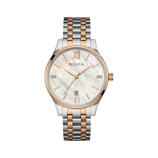 Bulova Women's 98P150 Diamond Watch|https://ak1.ostkcdn.com/images/products/14083928/P20694379.jpg?impolicy=medium