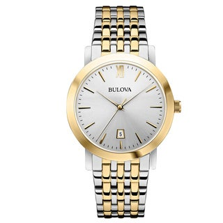 Bulova Men's 98B221 Two-Tone Dress Watch
