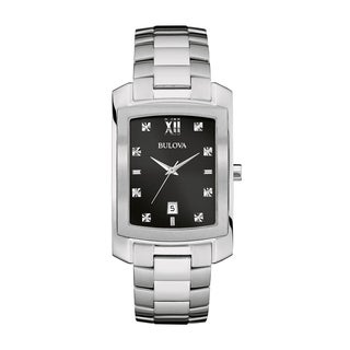 Bulova Men's 96D125 Diamond Watch
