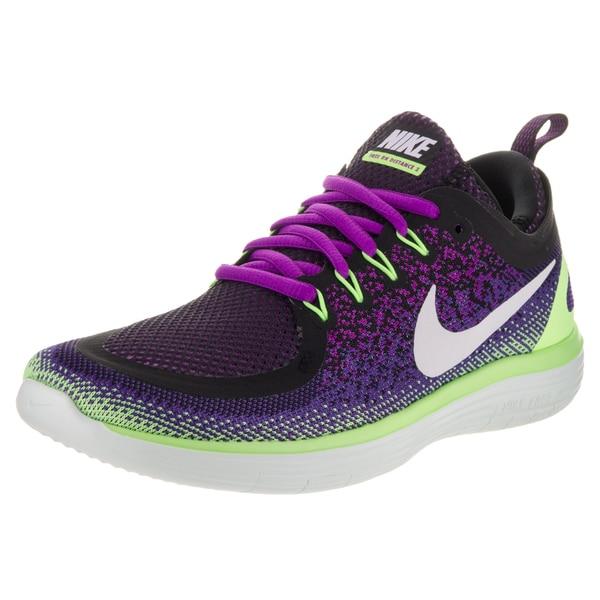 26196e284ddf Shop Nike Women s Free Run Purple Distance Running Shoe - Free ...