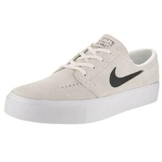 Nike Men's Zoom Stefan Janoski Prem HT White Suede Skate Shoes