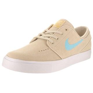Nike Unisex SB Zoom Janoski CPSL Beige Suede Skate Shoes