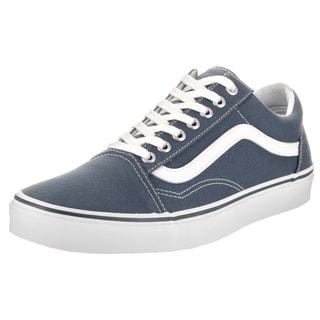 Vans Unisex Old Skool Blue Canvas Skate Shoes
