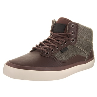 Vans Unisex Bedford (Monogram) Brown Leather Skate Shoes