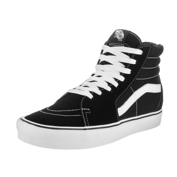 b6105b9e32 Shop Vans Unisex Sk8-Hi Light Suede Canvas Skate Shoes - Free ...