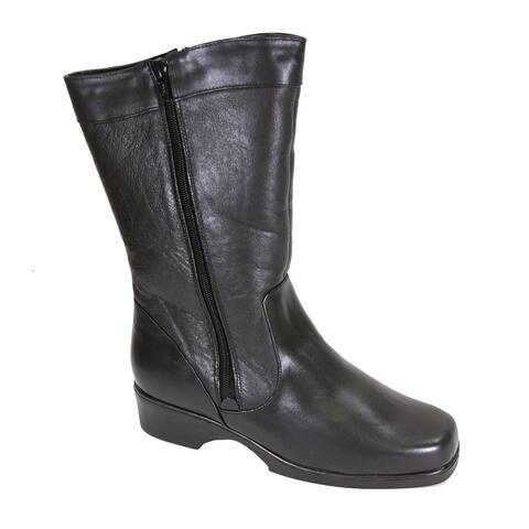 FIC Peerage Maya Women Extra Wide Width Leather Boot