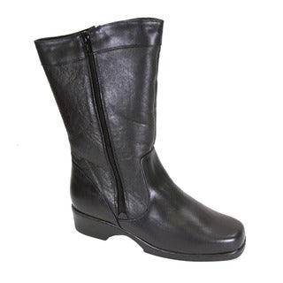 FIC Peerage Maya Women Extra Wide Width Leather Boot